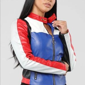 Fashion Nova Moto Jacket